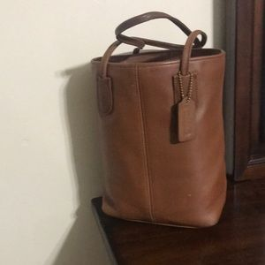 Vintage Small Coach Tote